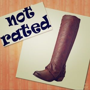 NEW! Not Rated Bailey Boots Round Toe Size 10